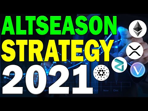 THE ULTIMATE ALTSEASON CRYPTO TRADING STRATEGY GUIDE!!   2021!