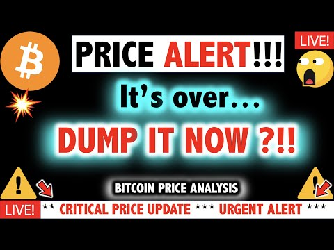 BEGINNING OF THE END FOR BITCOIN?!!! ⚠️Crypto Today/ New BTC Cryptocurrency Price Dump News Now 2021