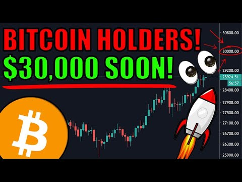 Bitcoin is Breaking $29,000 RIGHT NOW! MAJOR Bitcoin, Ethereum, & Cryptocurrency News Today! 🎉