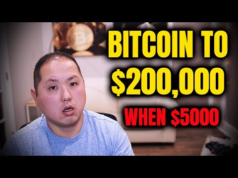 Bitcoin to $200,000 | Price Prediction When BTC Was At $5,000!