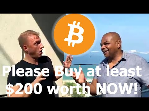 2020 Bitcoin Update: Just Buy $200 of Bitcoin Please!
