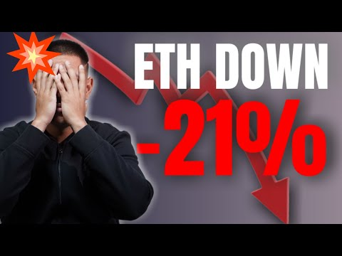 Ethereum Price DUMPS 21%!!! MUST WATCH News for Bitcoin Holders
