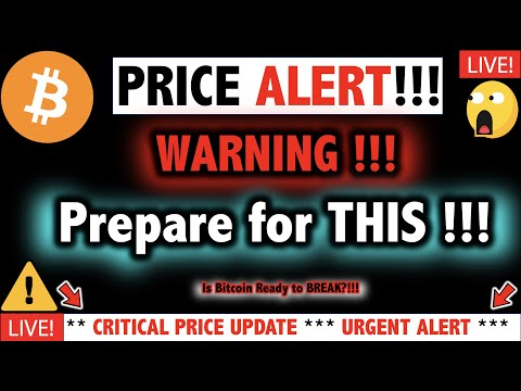 MY GOSH!!! BITCOIN HUUUUGE WARNING?!! ⚠️Crypto Trade TA Today & BTC Cryptocurrency Price News Now