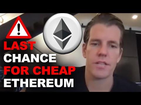 Tyler Winklevoss 2021 Crypto Warning (Ethereum Biggest Opportunity Since Amazon)