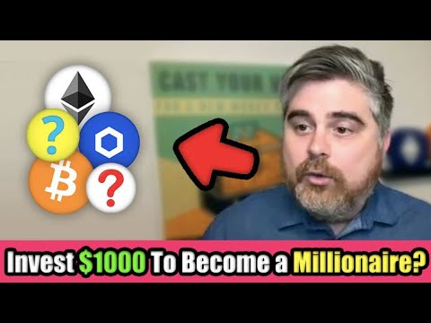 How I Would Invest $1000 in Cryptocurrency in 2021 to Become A Millionaire | BitBoy Crypto Interview
