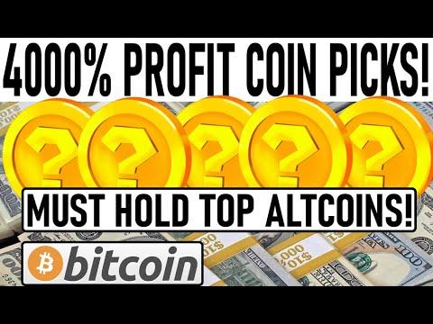 4000% PROFIT ALTCOIN PICKS! BULL RUN: MUST HOLD ALTCOINS! 1400 FIRMS BUY BITCOIN! $42K BTC BULL MODE