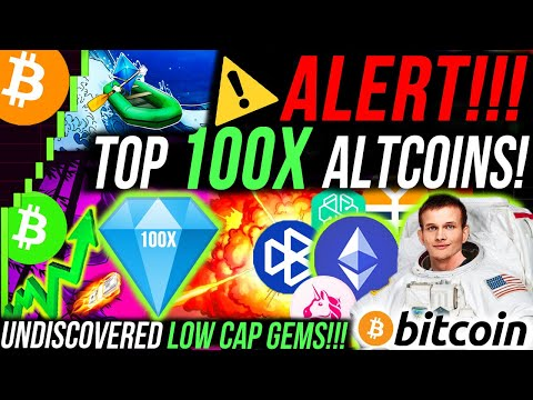 ALERT!!🚨 THE TOP 10 LOW CAP ALTCOINS WITH 100X POTENTIAL!! 100X ALTCOIN PORTFOLIO FOR ALTCOIN SEASON