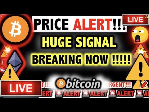 ⚠️*TIME SENSITIVE* BITCOIN SIGNAL ALERT!!! ⚠️Crypto TA Today/ BTC & Ethereum Cryptocurrency News Now