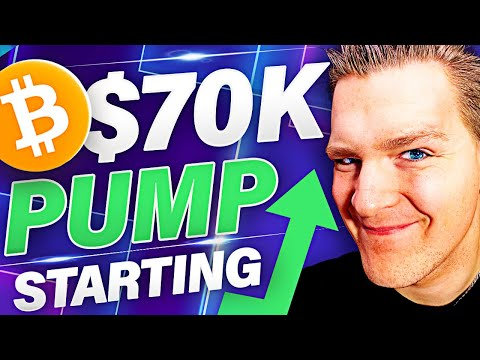 BITCOIN $70,000 PUMP STARTING TODAY!!! Tether, NUPL, Retail – Ivan on Tech