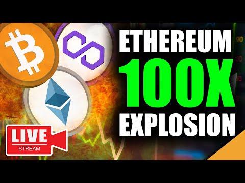 Shocking New Bitcoin Price Target (Ethereum 100X Imminent)
