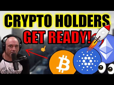 Cryptocurrency is about to EXPLODE in April! Cardano, Ethereum, Bitcoin MAJOR NEWS (Joe Rogan Pod)!