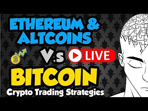 BITCOIN LIVE: Ethereum & Cardano: Crypto Trading Strategies