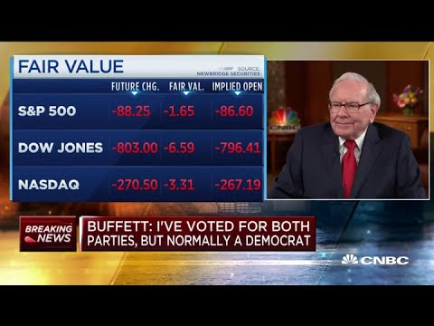 Warren Buffett: 'I don't own any cryptocurrency and I never will'
