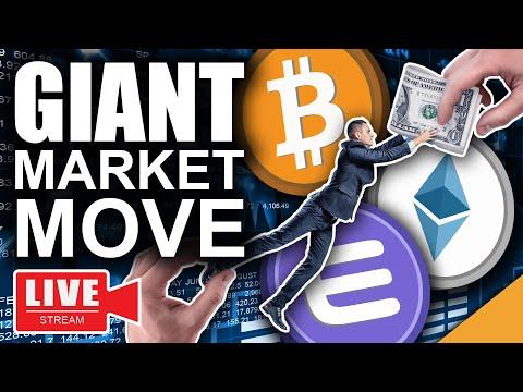 Bitcoin News: Go Time! (Giant Crypto Market Move Incoming)