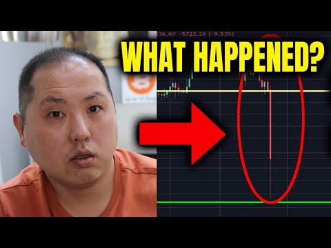 BITCOIN FLASH CRASH – WHAT HAPPENED??