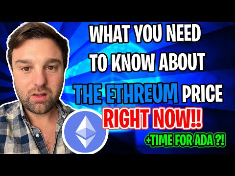 (URGENT ETH UPDATE!!!} WHAT YOU NEED TO KNOW ABOUT THE [ETHEREUM PRICE RIGHT NOW!] BUY OR SELL ETH!?