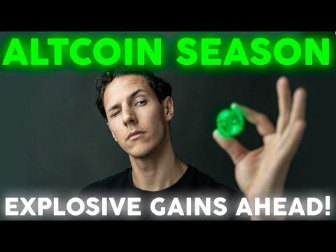 Altcoins – Explosive Gains Ahead in Altcoin Season!