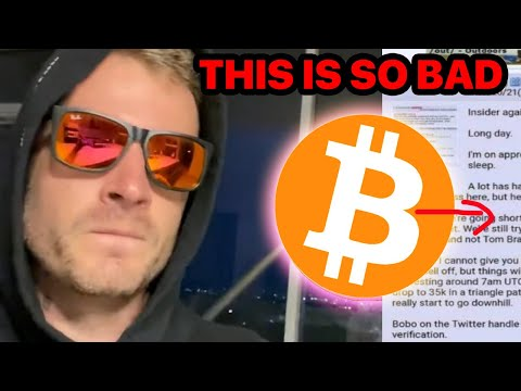 LEAK! Whales Dumping BITCOIN (Actually Urgent)