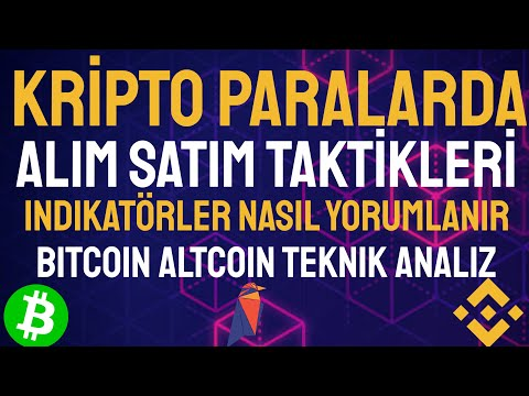KRİPTO PARALARDA ALIM SATIM TAKTİKLERİ/ETHEREUM/ALTCOİN/BİTCOİN/ANALİZ