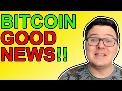 Bitcoin REALLY GOOD NEWS!!!! [Crypto News 2021]