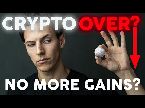 Cryptocurrency BULL MARKET Over?   Crypto Gains Lost?