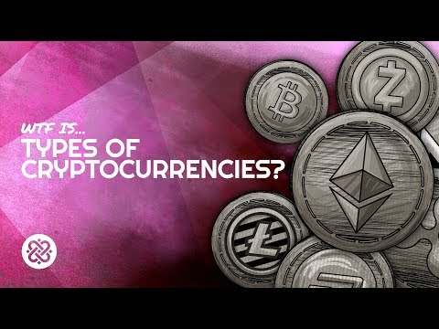 What Are The Different Types of Cryptocurrencies???