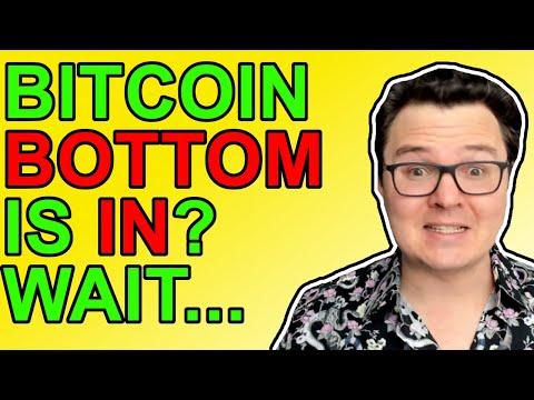 Bitcoin Price Bottom In Now? [Crypto News 2021]