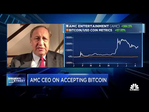AMC CEO on outlook: AMC will get quite involved in cryptocurrency