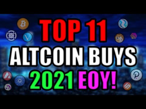 Top 11 Altcoins Set to EXPLODE in 2021 EOY | Best Cryptocurrency Investments AUGUST 2021