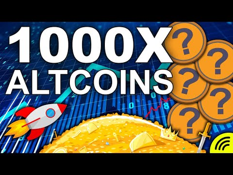 Top 5 Altcoins with 1000x Potential SUPER Low Cap Gems