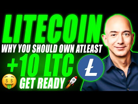 Why You Should Own ATLEAST 10 Litecoin (LTC) 🤑 Litecoin Price Prediction 2021   LTC News Today