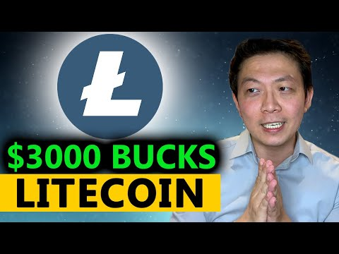 I JUST Bought $3000 Bucks Of Litecoin! Why It'll Go To $300 In 2 Months