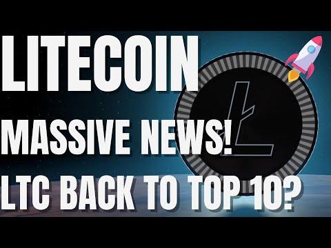 Litecoin MASSIVE News! – LTC Coin Price Prediction & Forecast 2021