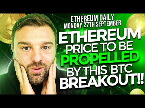 📈 THIS IS GREAT NEWS FOR THE ETHEREUM PRICE!!! // BTC BREAKOUT MEANS {TIME TO BUY ETH!!}