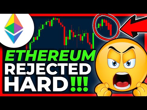 ETHEREUM GOT REJECTED HARD!!! + LOWER TARGET!! Ethereum Price Prediction 2021 // Ethereum News Today
