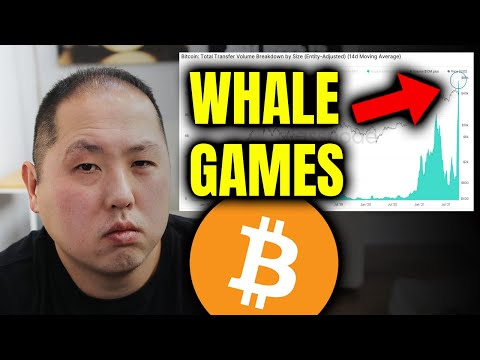 BITCOIN HOLDERS DON'T FALL FOR THE WHALE GAMES