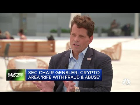 Anthony Scaramucci talks about the SALT conference and the future of cryptocurrencies