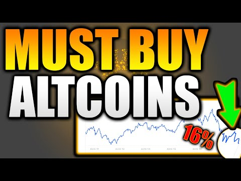Top 5 ALTCOINS at PERFECT TARGETS NOW! – BUY THE BOTTOM! – Top 5 Crypto Altcoins to Buy Sept 2021!