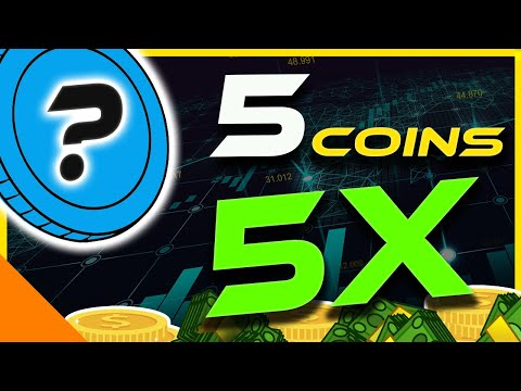 My Top 5X Altcoin Picks For This Bull Run   5 Altcoins To 5x   Crypto News Today