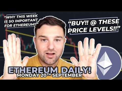THE ETH BEARS 🐻 WANT YOU TO SELL ETHEREUM NOW!! // KEY Price Levels, TA &  ETH Prediction!