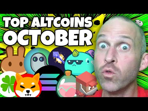 TOP 10 BEST ALTCOINS OCTOBER 2021 WITH EXPLOSIVE POTENTIAL!!!!!!