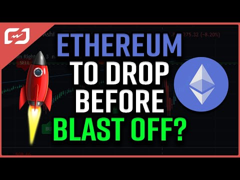 Ethereum Correction Before BLAST OFF?? My Ethereum Price Prediction Playing OUT! #CryptoEspresso