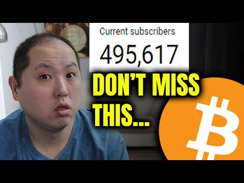 BITCOIN PUMPING | HUGE ANNOUNCEMENT FOR MY 500K SUBS