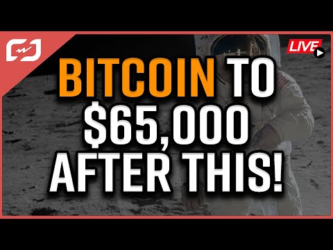 Bitcoin Over $65,000 IF THIS ACTUALLY HAPPENS! Insanely Bullish Bitcoin News! Coffee N Crypto LIVE