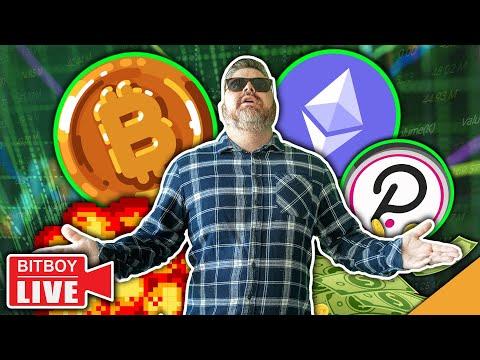Bitcoin & Ethereum Going Parabolic (Polkadot Leading Market)